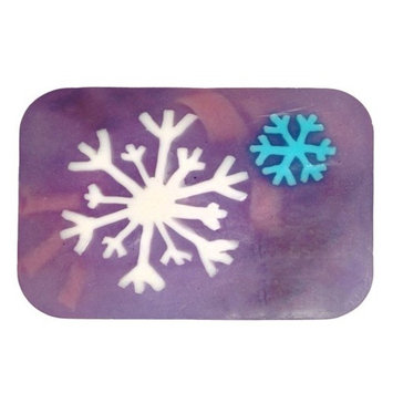 Hugo Naturals, Artisan Soap Bar, Vanilla Peppermint Snowflake, 6 oz (170 g)