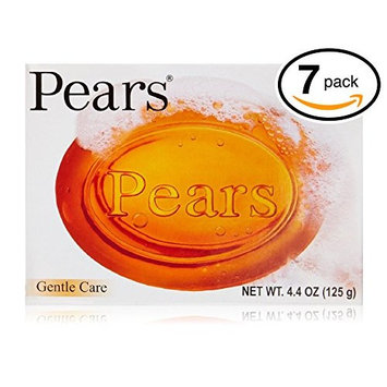 Pears Pure & Gentle Bar Soap with Natural Oils 4.4 oz (Pack of 7 Bars