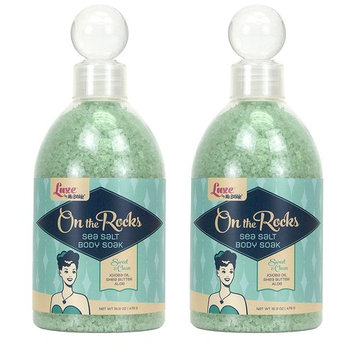 Luxe by Mr. Bubble, Body Soak, Sweet & Clean Scent, 16.9 oz, Pack of 2