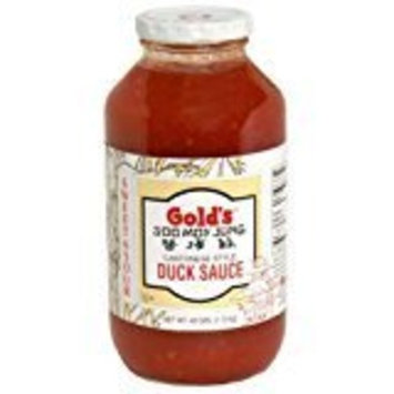 Gold's Duck Sauce Sweet & Sour Sauce Gluten Free KFP 40 Oz. Pk Of 3.
