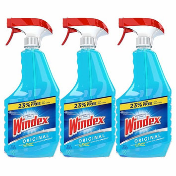Windex Glass & Multi Surface Cleaner, 32 Oz, Pack of 3