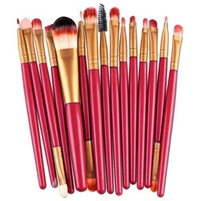 Makeup Set,SMTSMT 15pcs Makeup Brush Set tools Red