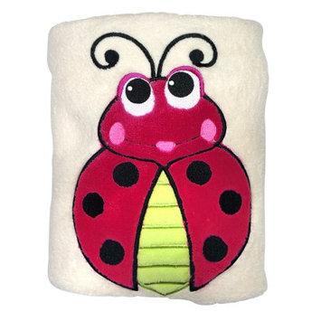 Sozo Ladybug Snuggle Sherpa Blanket