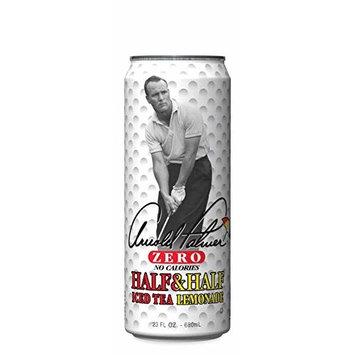 Arizona Tea Zero Half And Half Iced Tea Lemonade, 23 Fl Oz Tall Cans (Pack of 8, Total of 184 Oz)