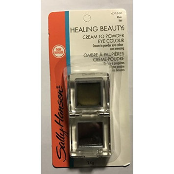 Sally Hansen Healing Beauty Cream to Powder Eye Color KHAKI 6518-06