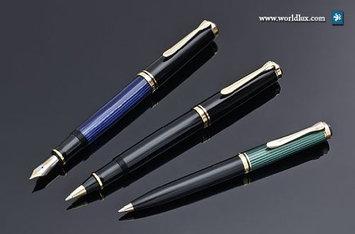Pelikan Souver n K 600 Ballpoint Pen - Black Barrel Color - 1 Each
