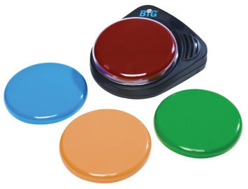 Ablenet BIGmack Interchangeable Single Message AAC Communicator For Special Need