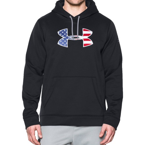 Under Armour Men's BFL AF Hoodie [Black-001,XX Large]
