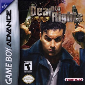 Namco 100941 Dead to Rights Games boy Advance