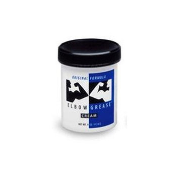 Elbow Grease Regular Cream Personal Lubricant 4oz