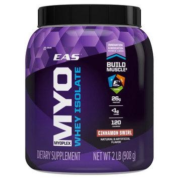 EAS Myoplex Whey Protein Isolate Powder, Cinnamon Swirl, 2 Lb