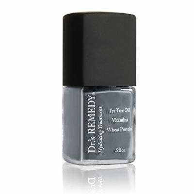 Dr.'s REMEDY Enriched Nail Polish, Stability Steel, 0.5 Fluid Ounce