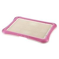 Richell Usa Inc Richell Paw Trax Mesh Training Tray, Pink