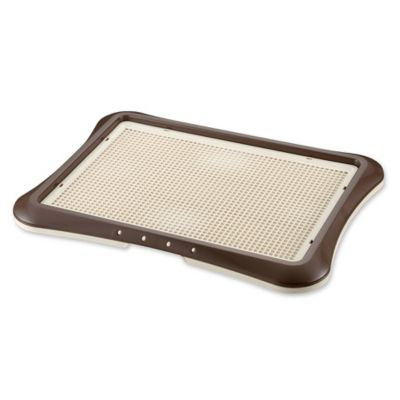 Tycon Paw Trax Mesh Training Tray Brown 25.2 x 18.9 x 1.6