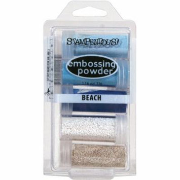 Stampendous Embossing Powder, 5pk .86 oz, Beach