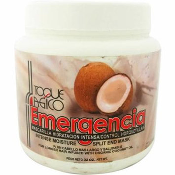 Intense Moisture Split End Mask by Toque Magico Emergencia for Unisex, 32 oz