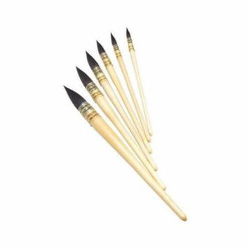 Series 150 Round Hair Bamboo Handle Size: 12