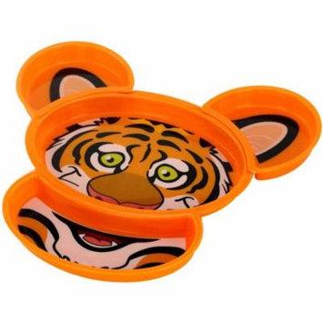 KidsFunwares Build-A-Meal Plate, Tiger