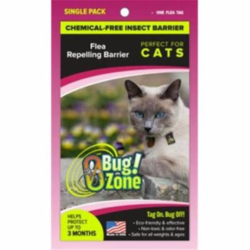 0Bug Zone Flea Barrier Tag for Cats