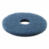 Boardwalk Standard 13-Inch Diameter Scrubbing Floor Pads, Blue (PAD4013BLU)