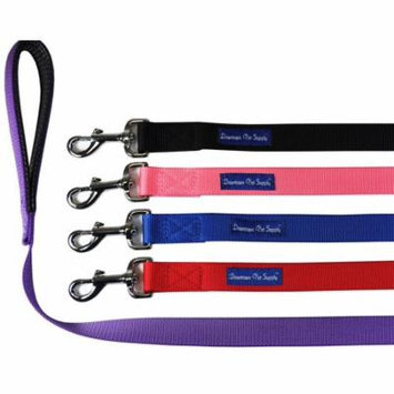 Strong Durable Dog Leash Lead (Red, 2 ft x 3/4 in)
