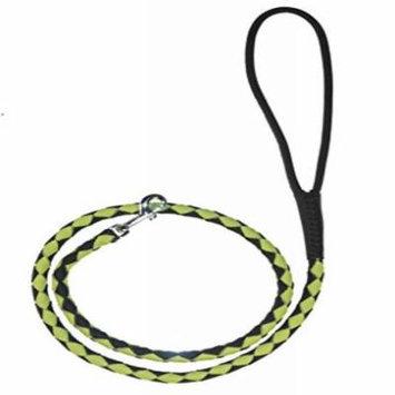 Dogline Round Braided Leather Leash W1/4