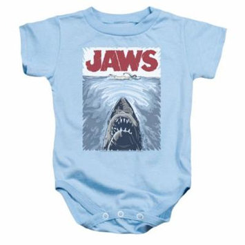 Jaws/Graphic Poster Infant Snapsuit Light Blue (24 Mos) Uni556