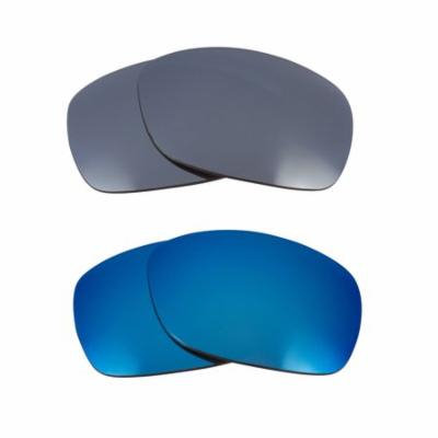 Best SEEK Replacement Lenses for Oakley SIDEWAYS Silver Mirror Blue