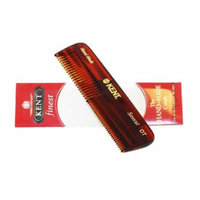 Kent Brushes The Hand Made Comb for Men Coarse/Fine 4 -inches Pocket Comb