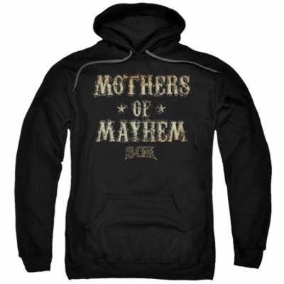 Sons Of Anarchy/Mothers Of Mayhem Adult Pull Over Hoodie Black Soa170