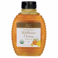 Swanson Certified Organic Raw Wildflower Honey 16 oz (1 lb) (454 g) Liquid