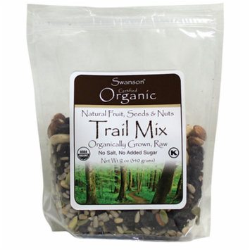 Swanson Organic Fruit, Seeds and Nuts Trail Mix 12 oz (340 g) Pkg