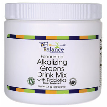 Swanson Fermented Alkalizing Greens Drink Mix 7.4 oz (210 g) Pwdr
