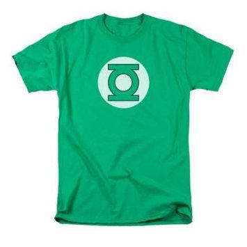 DC Comics Men's Green Lantern Logo T-shirt Green