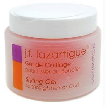 J.f. Lazartigue Styling Gel to Straighten or Curl, 3.4 Ounce