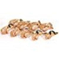 Pet Supply Imports 29902 Tan Polyethylene Basket Nylon Strap Basket Dog Muzzle, Size 2