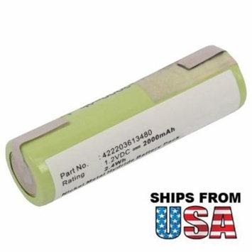 Razor Battery for PHILIPS 5810XL 5811XL 5814XL 5818XL REMINGTON F-4790 F-5790
