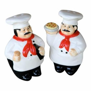 Gourmet Master Italian Chefs Salt and Pepper Shakers