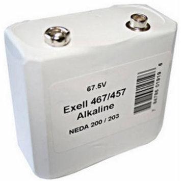 Battery 457/467 67.5V Alkaline Battery NEDA 203 Replaces ER457 + FREE SHIPPING