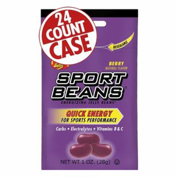 Jelly Belly Sport Beans: Berry, Box of 24
