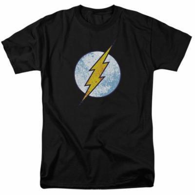 Dco/Flash Neon Distress Logo S/S Adult 18/1 Black Dco587