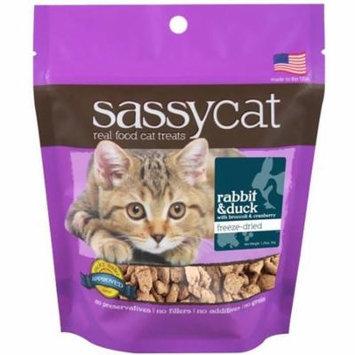 Herbsmith Sassy Cat Freeze Dried Rabbit & Duck Cat Treats 1.25 oz.