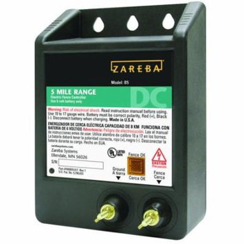 Zareba 5-Mile Battery Operated Solid State Fence Charger