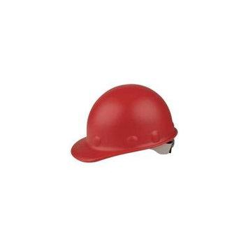 HONEYWELL FIBRE-METAL Hard Hat,8 pt. Ratchet,Red P2HNRW15A000