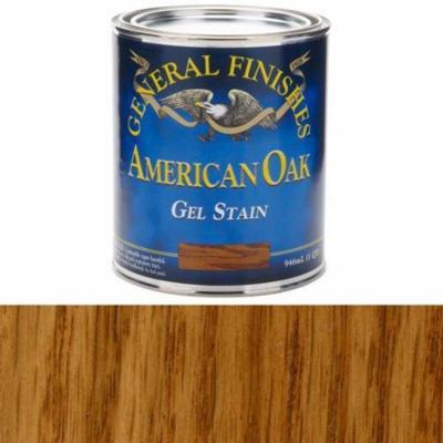 General Finishes, American Oak Gel Stain, Quart