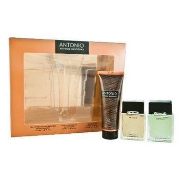 Antonio Coffret: Eau De Toilette Spray 30ml/1oz + After Shave 30ml/1oz + Shower Gel 75ml/2.5oz - 3pcs