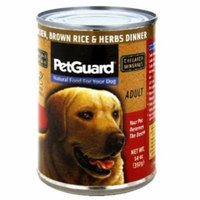 Pet Guard Chicken and Rice Dog Food, 13.2 oz, 12-Pack