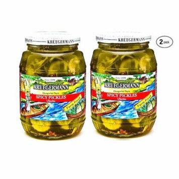 Kruegermann Pickles Spicy Pickles Uborka 2-Pack (64 fl.oz)