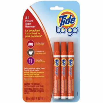2 Pack - Tide To Go Instant Stain Remover Pen 3 ea