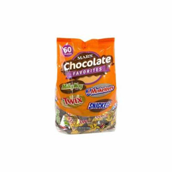 Mars Fun Size Variety Mix: 29.7 oz 60 pieces